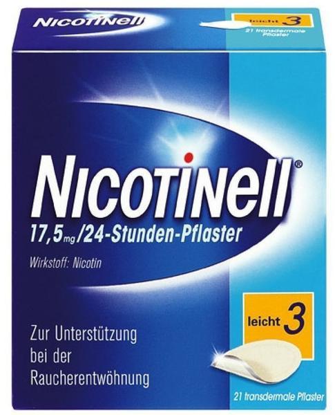 Novartis Nicotinell 17.5 mg 24-Stunden transdermale Pflaster 21 St.