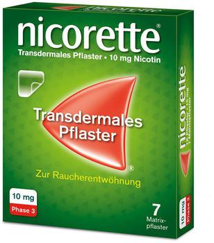 nicorette TX Pflaster 10 mg (7 Stk.)
