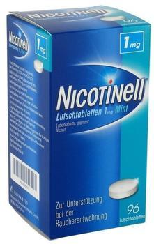 Nicotinell 1mg Lutschtabletten Mint (96 Stk.)