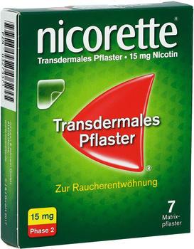 nicorette TX Pflaster 15 mg (7 Stk.)