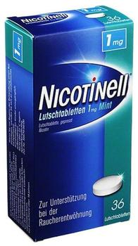 Nicotinell Mint 1 mg Lutschtabletten 36 St.