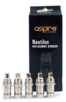 Aspire Verdampferkopf Nautilus 1.8 Ohm 5 St.