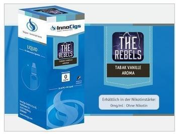 InnoCigs E-Zigarette The Rebels Tabak Vanille 0 mg 10 ml