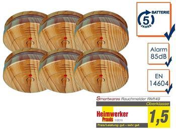 smartwares RM149H-5J Holzoptik 6 St.