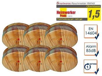 smartwares RM149H Holzoptik 6 St.