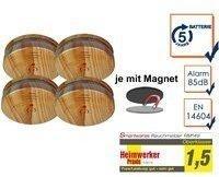 smartwares RM149H-5J Holzoptik 4 St.