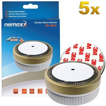 Nemaxx M1-Mini gold inkl. Magnethalterung 5 St.