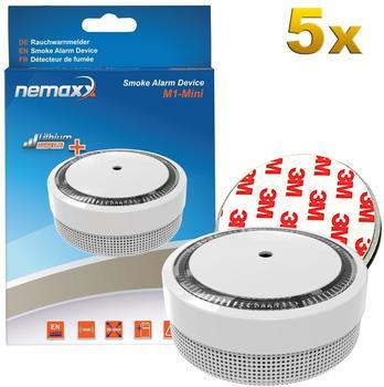 Nemaxx M1-Mini weiß inkl. Magnethalterung 5 St.