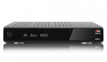 AX 4K Box HD 51