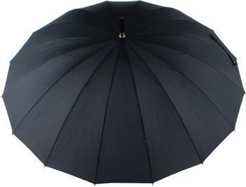 Doppler London Regenschirm schwarz