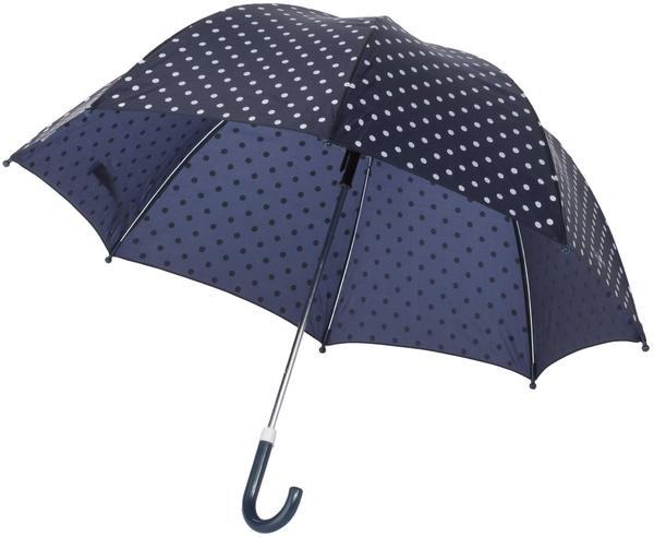Playshoes Regenschirm Punkte marine (441767-MAR)