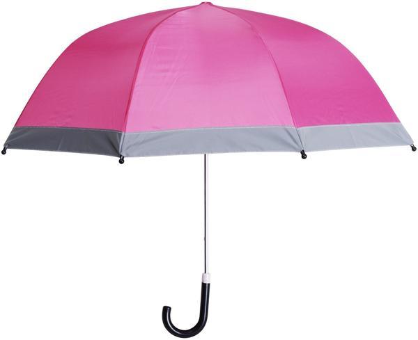 Playshoes Regenschirm mit Reflektoren (441730) pink