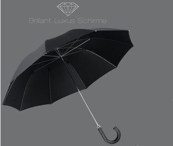 Euroschirm Brillant Luxus Gents 93 cm black (10 Schienen)