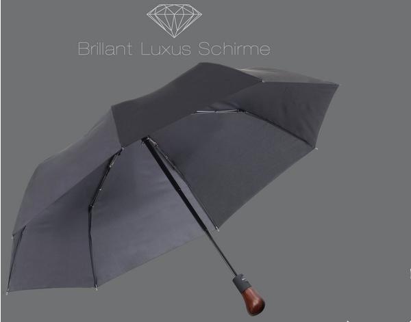 Euroschirm Brillant Luxus Pocket black