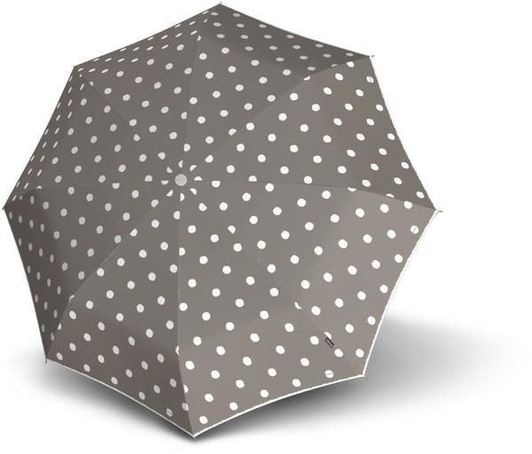 Knirps T010 Small Manual dot art taupe