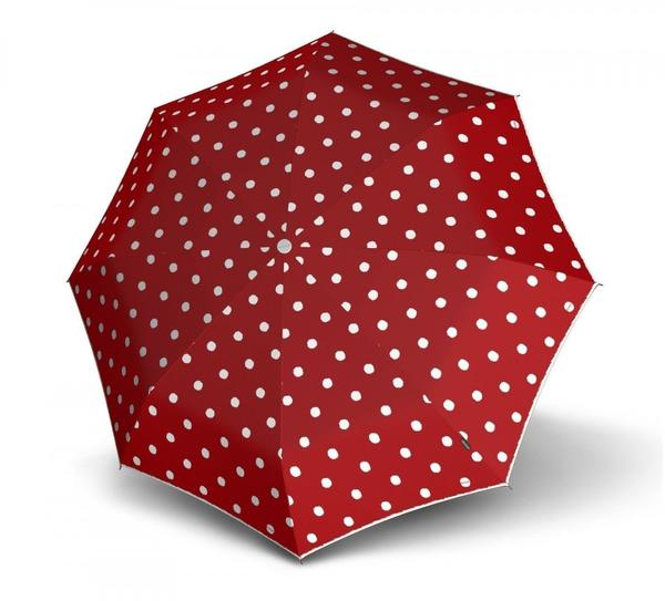 Knirps T010 Small Manual dot art red