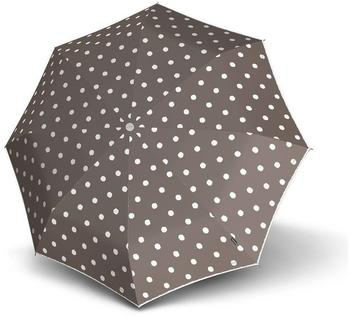 Knirps Long AC dot art taupe