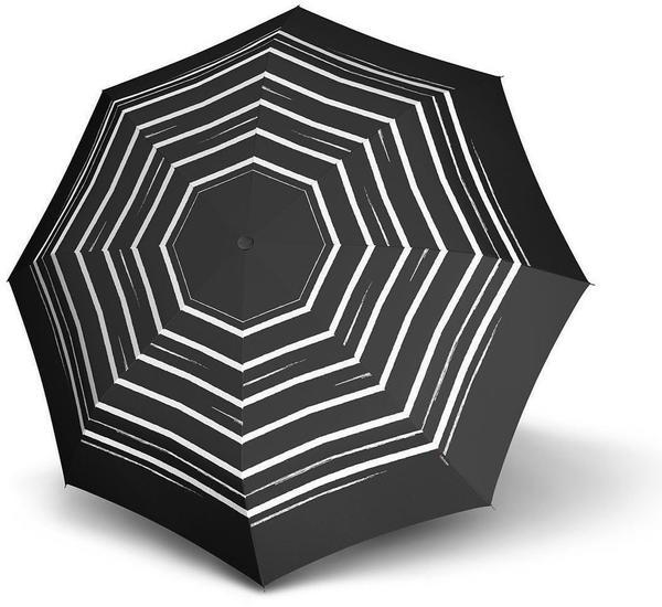Knirps Long AC stripe art black