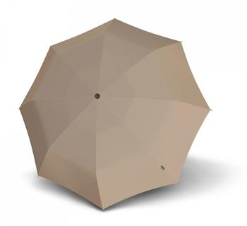 Knirps T.100 Small Duomatic UV Protection taupe
