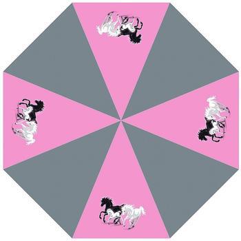 McNeill Kinder-Taschenschirm Spirit lila mit Pferden