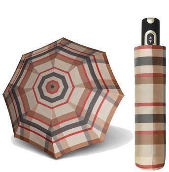 doppler-taschenschirm-magic-carbonsteel-karo-beige