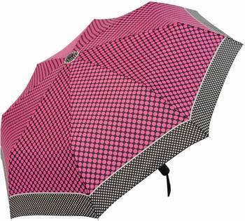 Doppler Taschenschirm Magic Carbonsteel Sparkling pink/schwarz