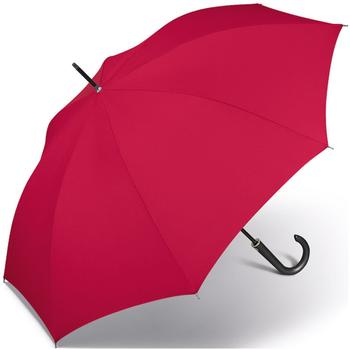 Happy Rain Long AC Kinematic Stockschirm 87 cm red