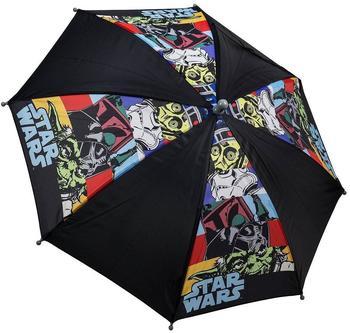 Undercover Star Wars Stockschirm schwarz