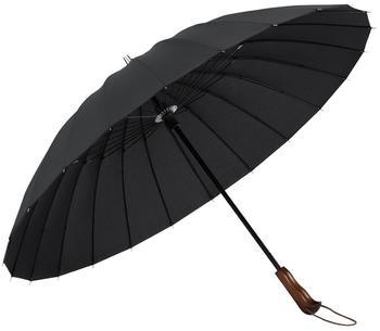 Plemo Regenschirm schwarz