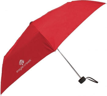 Eagle Creek Rain Away Travel Umbrella torch red