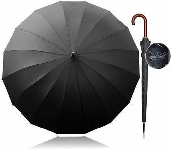 Primazon RoyalWalk XXL Automatik Schirm schwarz