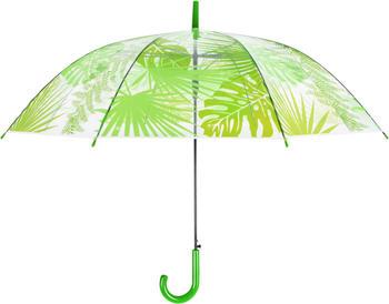 Esschert Umbrella Transparent jungle leaves (TP272)