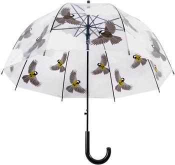 Esschert Umbrella Transparent 2 sided birds (TP274)