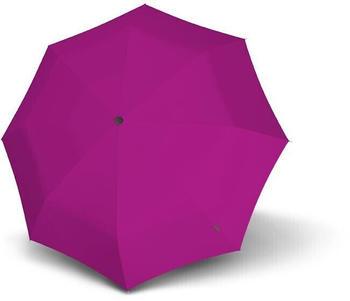 Knirps T.200 Medium Duomatic Einfarbig pink