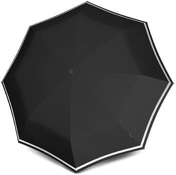 Knirps Pocket Umbrella T.200 Duomatic Stripe grace black