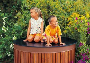 Beckmann Deckel für Regenfass 2000 Liter (FADE200)