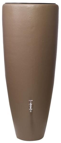 Garantia 2in1 Wasserbehälter mit Pflanzschale 300 Liter taupe (326116)