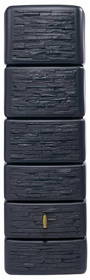 Testbericht De 4rain Saulen Wandtank Slim Stone Dekor 300 Liter
