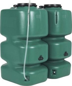 Garantia Gartentank 2000 Liter dunkelgrün (326015)
