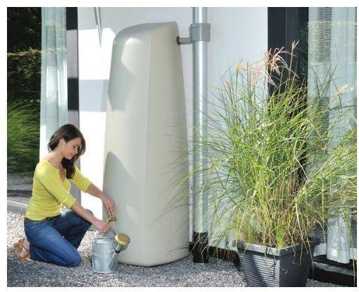 Garantia Elegance Wand-Tank 400 Liter steingrau (212301)