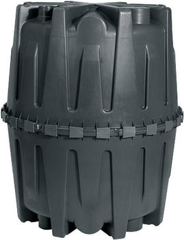 Garantia Herkules 1600 Liter schwarz (100010)