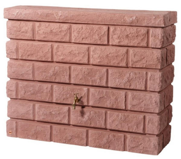 Garantia Rocky 400 Liter granit-rot