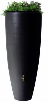Garantia 2in1 Wasserbehälter mit Pflanzschale 300 Liter mocca (326109)