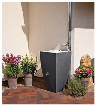 Rewatec Regenspeicher Modena 200 Liter - black granit