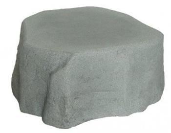GreenLife Unterstand für Dekor-Regenspeicher Hinkelstein - granitgrau
