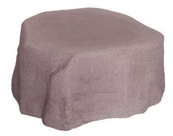 GreenLife Unterstand für Dekor-Regenspeicher Hinkelstein - granitrot