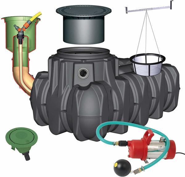 Graf Komplettpaket Garten-Komfort 1500 Liter (390205)
