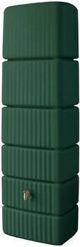 4rain Säulen-Wandtank Slim grün 300 Liter