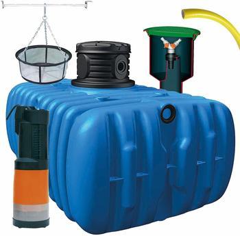 4rain Flat M Comfort-Flachtank Paket 3000 Liter