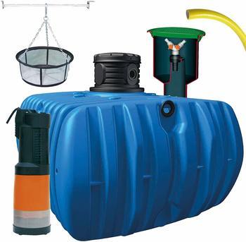 4rain Flat L Comfort Komplett-Set 5000 Liter